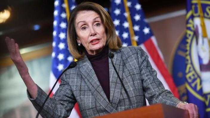 Demokratin Nancy Pelosi, Sprecherin des US-Repräsentantenhauses