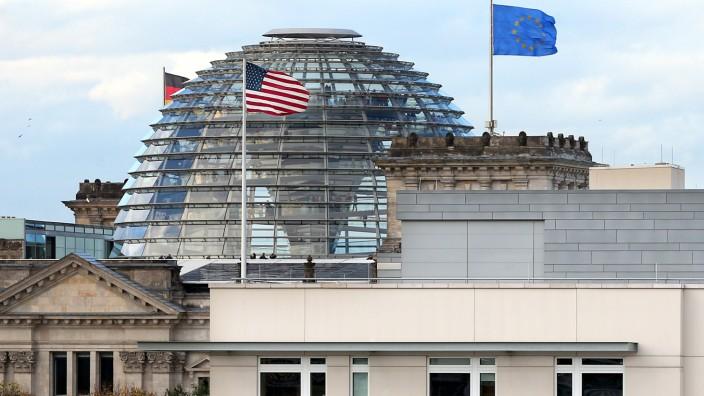 US-Botschaft und Reichstag