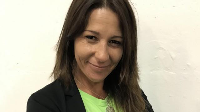 "Die Präsidentin der Organisation ""Las Kellys"", Myriam Barros"