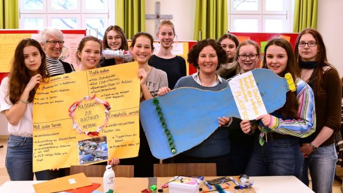 Die Umweltgruppe des Edith-Stein-Gymnasiums in München