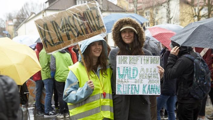 Demo Schulstreiks für das Klima Fridays For Future