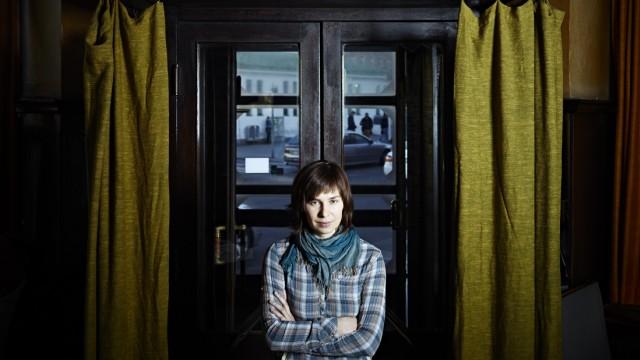 EXCLUSIVE Die Ukrainische Autorin Tanja Maljartschuk ...