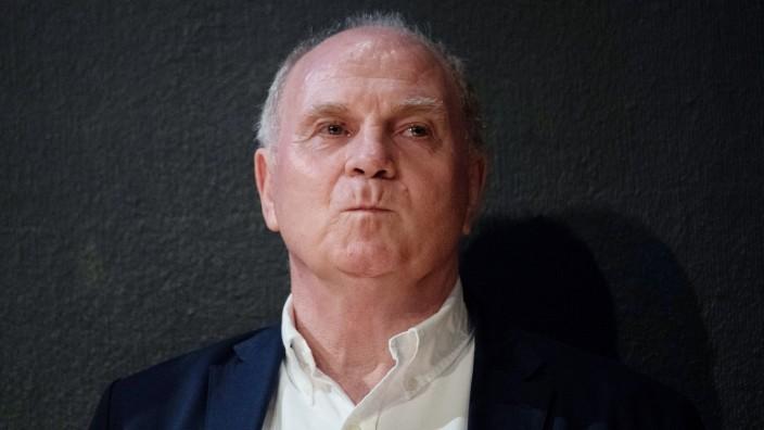 FC Bayern - Präsident Uli Hoeneß