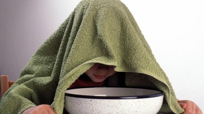 Gesundheitsreport: Atemwegserkrankungen sind bei Bayerns Mädchen und Buben die häufigste Erkrankungsart.