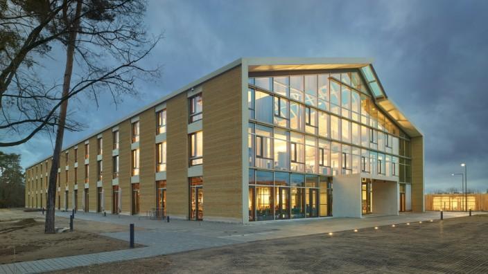 SW: Fassade; Alnatura Campus