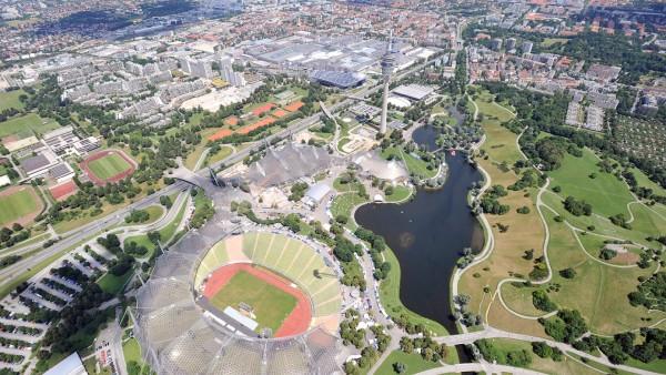 Luftaufnahme von München-Milbertshofen, 2008