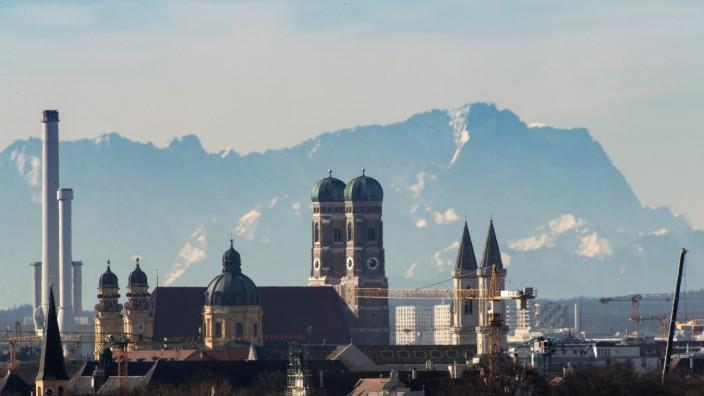Fönwetter über Bayern