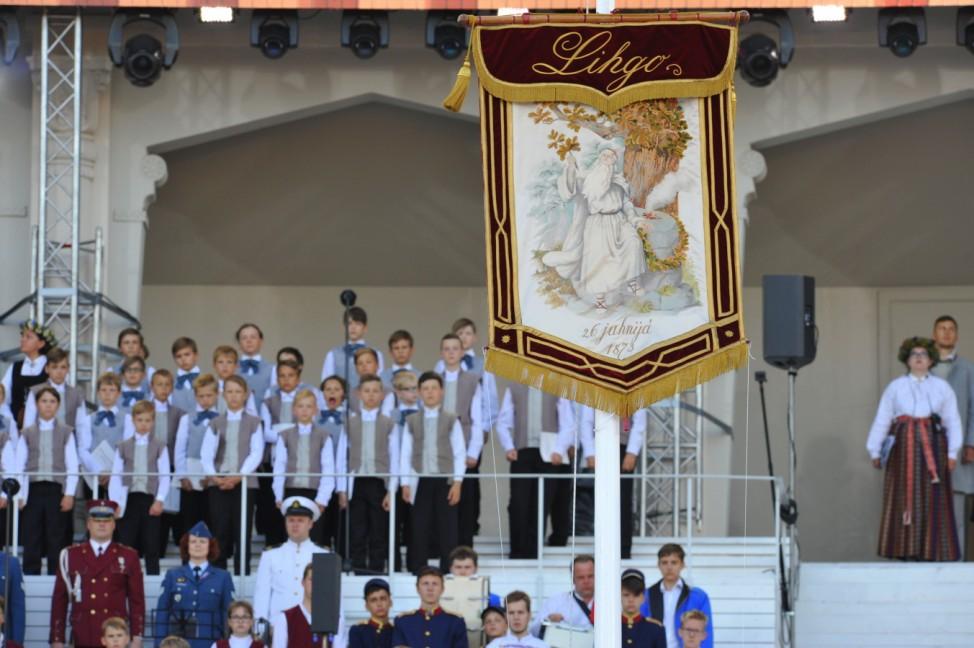 Latvian Song and Dance Celebration Litauen Sing und Tanz Fest 2018