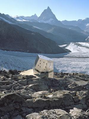 Touren in den Alpen Schweiz Zermatt Matterhorn Gornergletscher, ETH-Studio Monte Rosa/Tonatiuh Ambrosetti