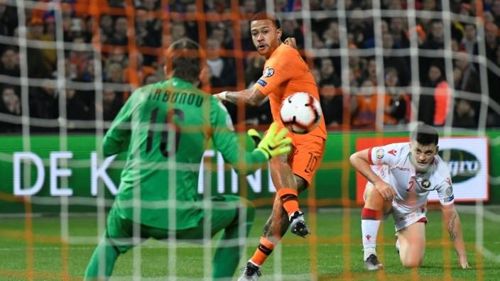 Euro 2020 Qualifier - Group C - Netherlands v Belarus