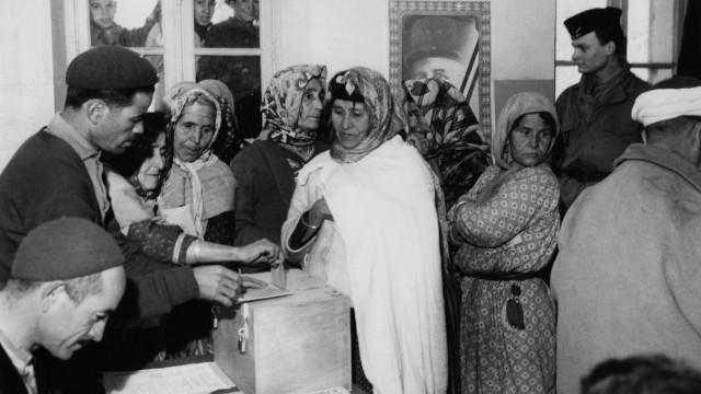 Referendum in Algerien, 1961
