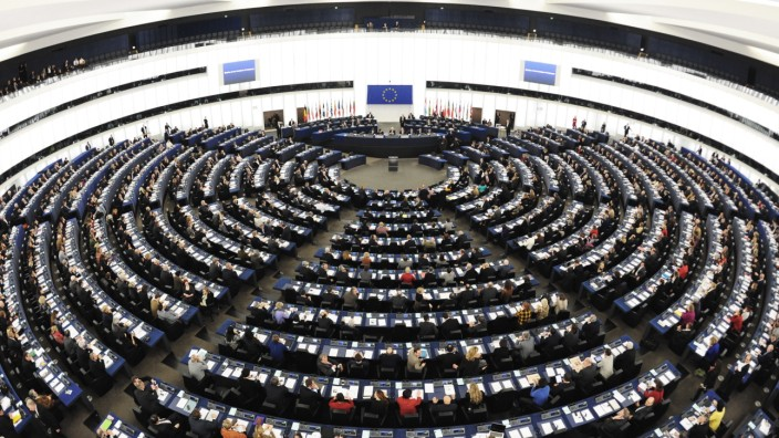 EU-Parlament - Das Europaparlament in Straßburg
