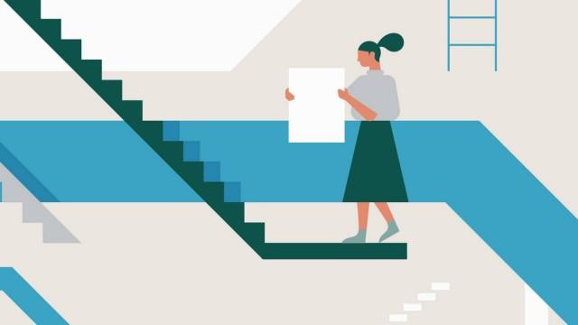 Junge MâÄ°nner und Frauen bei der Karriereplanung PUBLICATIONxINxGERxSUIxAUTxONLY Copyright xJamiexJo