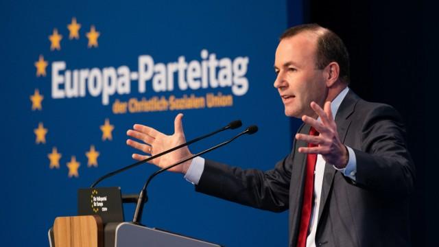 Europa-Parteitag der CSU