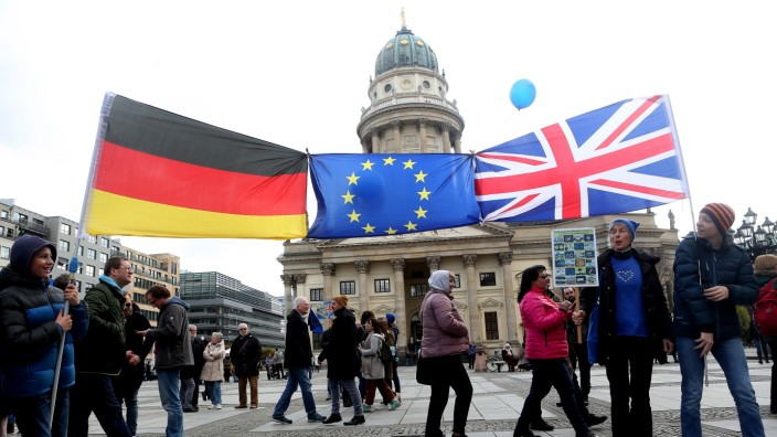 Pulse of Europe Demonstration Takes Place In Berlin