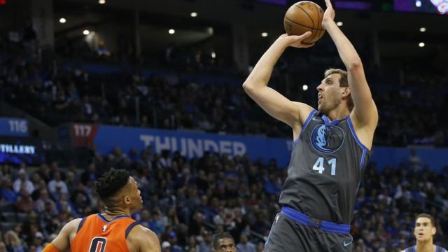 Oklahoma City Thunder - Dallas Mavericks