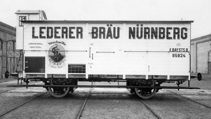 eine Sonderausstellung des DB Museums in Nürnberg zum historischen Güterverkehr, bitte nur zur Verwendung frei in Zusammenhang mit der Besprechung der Ausstellung im Mobilen Leben.  Quelle: DB Museum Nürnberg