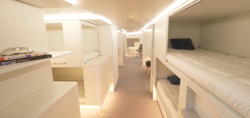 Airbus Lower Deck Modules for Crystal Cabin Award
