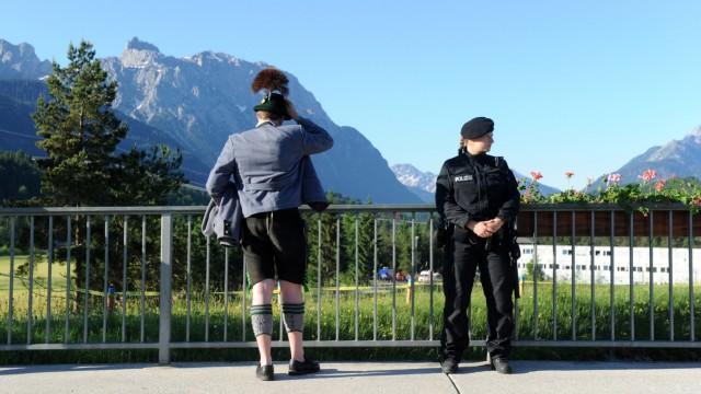 G7-Gipfel 2015 - Krün