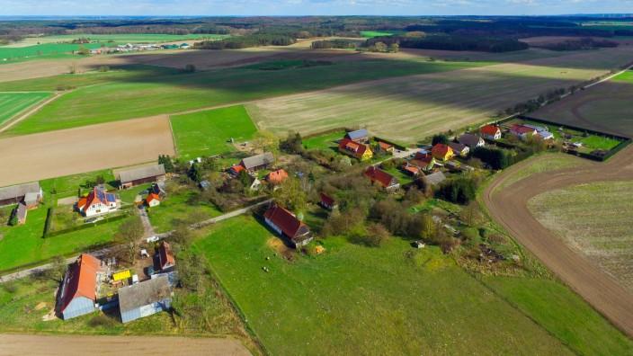 Ländliche Region in Brandenburg