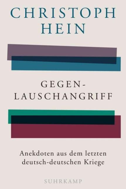 Literatur und Recherche: Christoph Hein: Gegenlauschangriff – Anekdoten aus dem letzten deutsch-deutschen Kriege. Suhrkamp Verlag, Berlin 2019. 122 Seiten, 14 Euro.