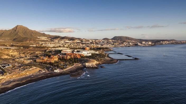 Die Bucht von Playa La Enramada ist vom Restaurant Maresía aus zu sehen.
