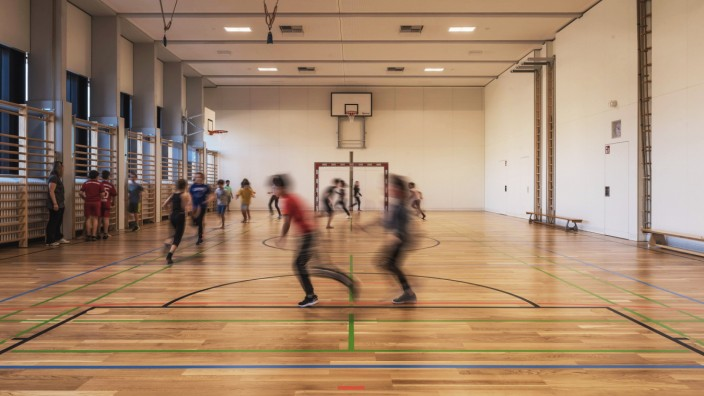 Baden PâÄ°dagogische Hochschule Turnsaal *** Baden University of Education Turnsaal