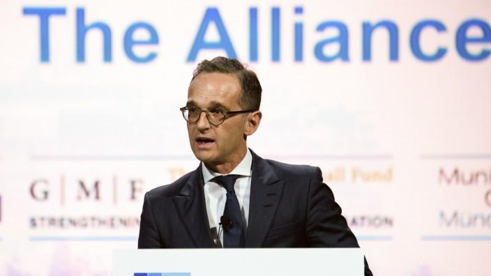 70 Jahre Nato - Rede Heiko Maas (SPD)