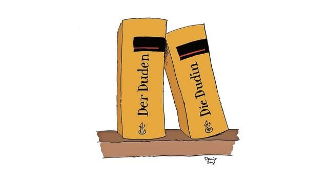 Gendergerechte Sprache: SZ-Zeichnung: Denis Metz
