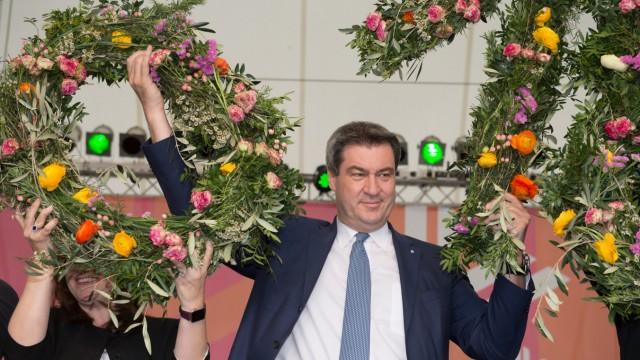 Eröffnung Bayerische Landesgartenschau