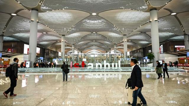 Neuer Airport Istanbul: Der neue Flughafen heißt einfach nur Istanbul - wenn es dabei bleibt.