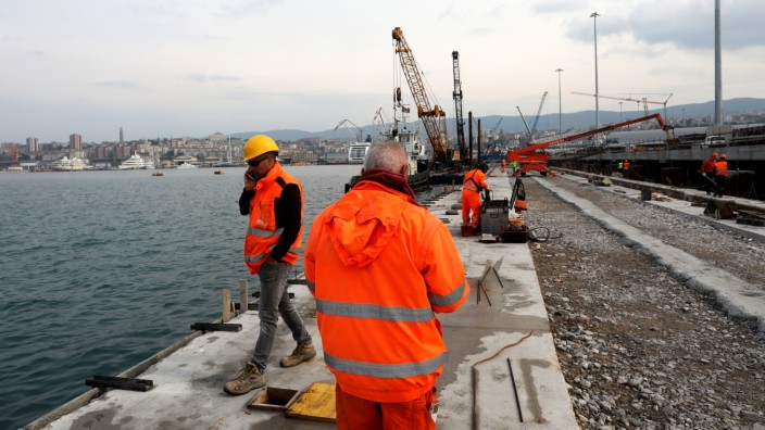 Trieste Port Offers A European Notch In China's 'Belt And Road' Project
