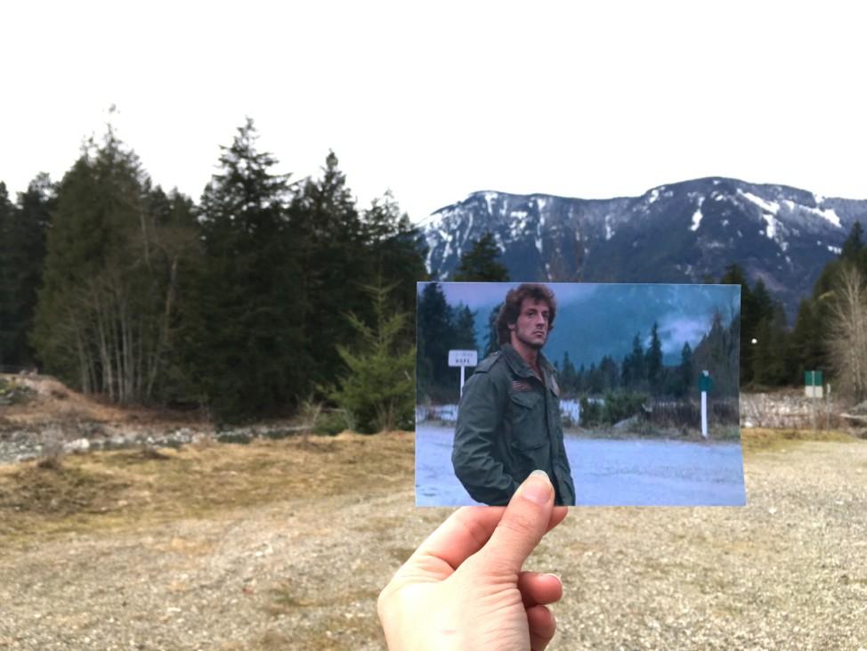 Andrea David Filmtourismus.de Rambo Hope British Columbia Kanada