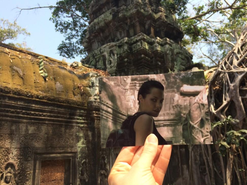 Andrea David Filmtourismus.de Tomb Raider Angelina Jolie Angkor Wat Kambodscha