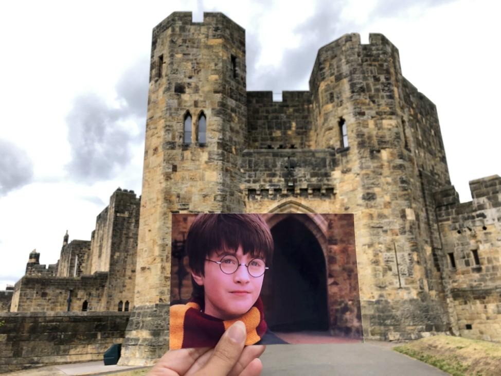 Harry Potter Andrea David Filmtourismus.de Drehort