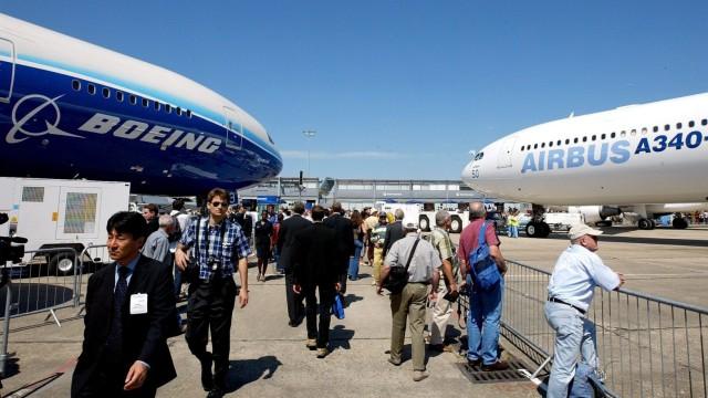 Airbus Strafzölle Boeing