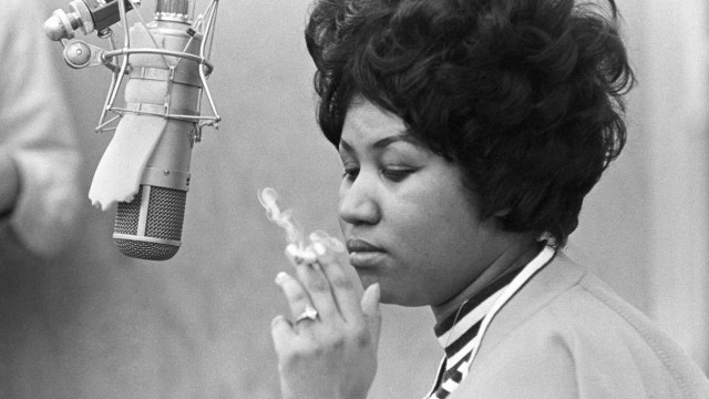 Aretha Franklin Recording At Muscle Shoals