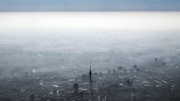 Feinstaub und Smog - Dunstglocke über Berlin