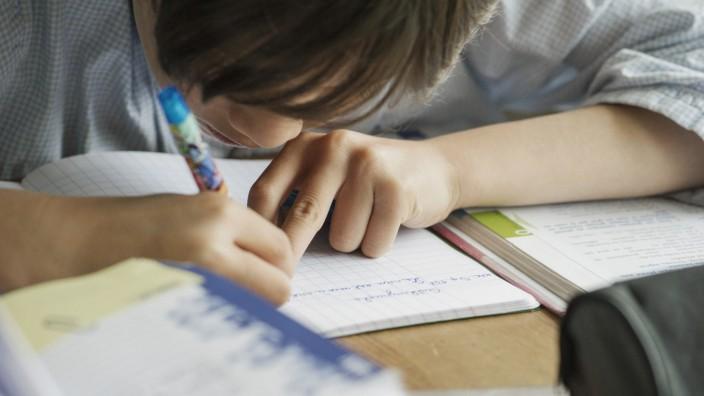 Handschrift Schüler Arbeitsheft