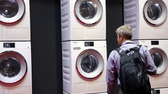 Internationale Funkausstellung IFA - Waschmaschinen