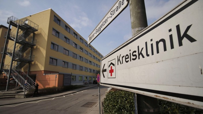 Kundgebung: Im Kreiskrankenhaus wollen etwa 30 von 120 Ärzten an diesem Mittwoch streiken, einige Operationen müssen verschoben werden.