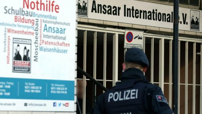 Razzien gegen islamistisches Netzwerk