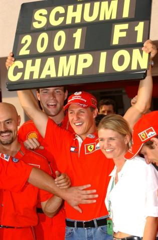 Formel 1 - 2001 Weltmeister Michael Schumacher