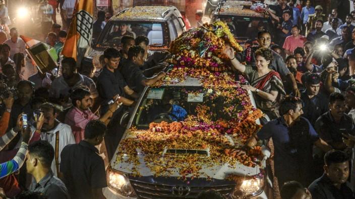 Priyanka Gandhi Campaigns Before India's General Election