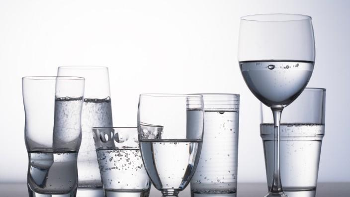 Glasform hat Einfluss auf Geschmack von sprudelndem Mineralwasser