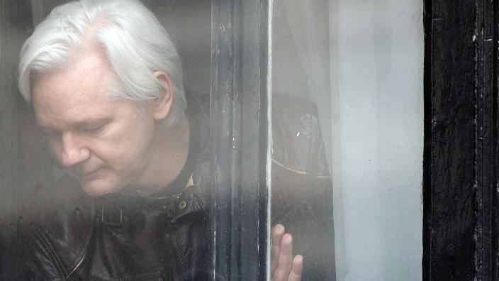 Julian Assange festgenommen
