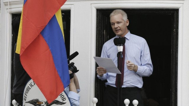 Britain Assange Photo Gallery