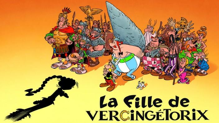 """Asterix-Comic: Im Herbst erscheint der neue Asterix-Band """"Die Tochter des Vercingetorix""""."""