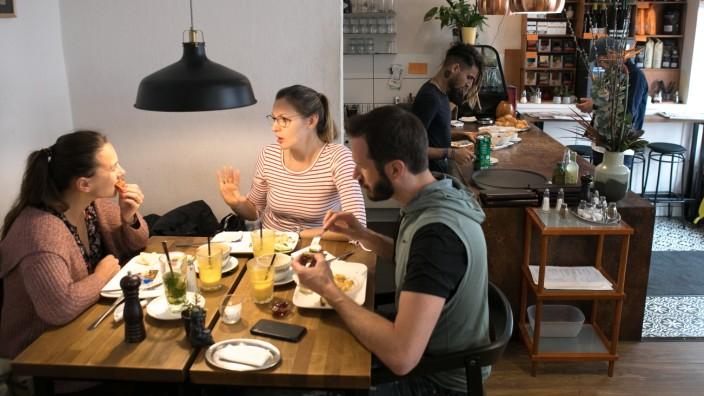 Frühstück Café Gollier in der Gollierstraße 36 im Westend