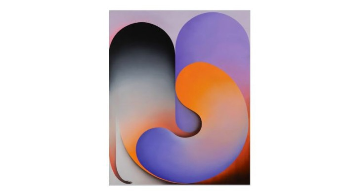 Grit Richter, I'd Like to Spend More Time With You, 2019, oil on linen, 210 170 cm. Courtesy: Galerie Tanja Wagner, Berlin